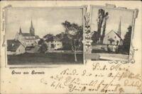 Gruss Aus Gurmels Switzerland 1903 Used Postcard