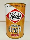 KOCH'S GENUINE DRAFT ONE GALLON TALL EMPTY BEER CAN  DUNKIRK, NEW YORK