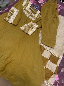 Ladies Asian 3 Piece  Frock Style Suit