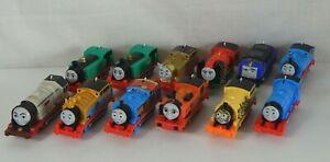 2013 Mattel Gullane Thomas The Train Trackmaster Engines Lot of Twelve Tested