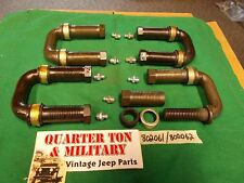 Jeep Willys MB GPW CJ2A 3A M38 U-shackle Kit new correct