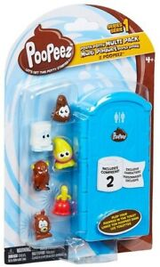 Poopeez Multi Pack with 8 collection figures