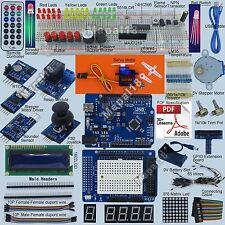 New Ultimate UNO R3 Starter Kit for Arduino 1602 LCD Servo Motor Relay RTC LED