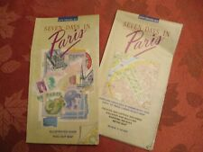 7 DAYS IN PARIS CITY TRAVEL PLANNER/MAPS--FREE SHIPPING