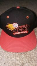 Vintage 90s Perth Heat New Era Snapback Hat Cap -VERY RARE Aussie Baseball