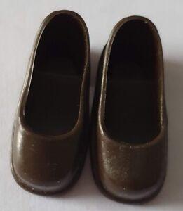 Vintage Pedigree Sindy fashion doll brown court shoes