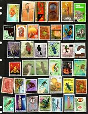 Papua New Guinea - 480 different stamps, nice collection (67R)