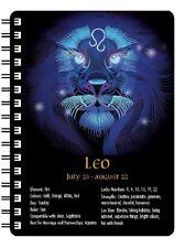 Leo Zodiac 3D Notebook