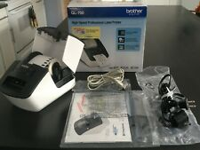 Brother QL-700 Thermal Label Printer Excellent Condition in Box w/ Accessories
