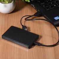 USB3.0 1TB Hi-Speed External Hard Drives Portable Desktop Mobile Hard Disk Case