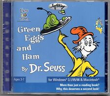 DR SEUSS - Green Eggs & Ham - Windows PC Computer CD-Rom - New & Sealed