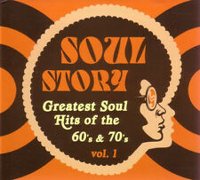 Soul Story - Greatest Soul Hits of the 60's & 70's Volume 1 2 CD Set
