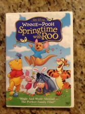 Winnie the Pooh - Springtime with Roo (DVD, 2004)Authentic Disney US Release