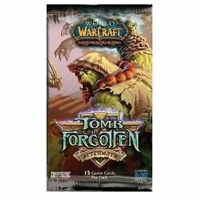 Warcraft * Tomb of the Forgotten - Booster Pack x 1 * Wow - White Camel loot?