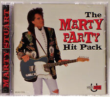 The Marty Party Hit Pack by Marty Stuart (CD, Mar-1995, MCA)