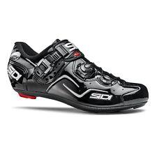 SIDI Kaos Road Cycling Shoes Bike Bicycle Shoes Black/Black Size 36-46 EUR