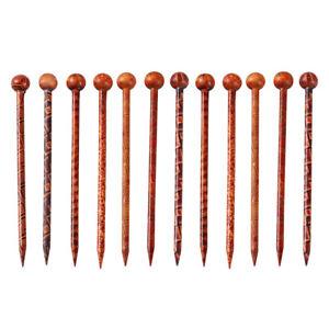 12 Stück Haarstab Haarnadel Haarschmuck Hairpin Hair Stick Vintage Haarstock