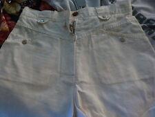 T36-38 toile mini jupe beige ,+short offert==== a saisir !!