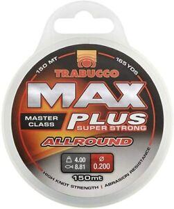 Trabucco Max plus ALLROUND Super Strong Mono Fishing Line 300m