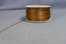 1mm Metallic Gift Tag Cord (Non-Elastic) Gold Crafts Beading String party favors