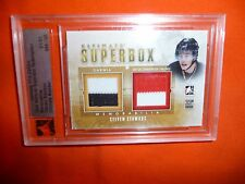 12-13 ITG NATIONAL SUPERBOX Steven Stamkos TRUE 1/1 Double JSY Canada / Sarnia