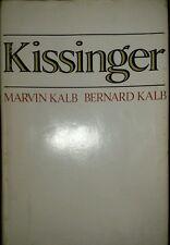 Vintage Kissinger by Marvin and Bernard Kalb - HC/DJ-1974 Used