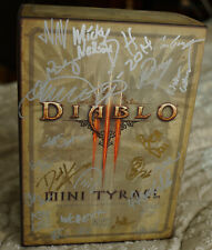 Blizzcon 2011 Diablo 3 Mini Tyrael Signed Autographed