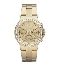 Michael Kors Ladies Gold Tone Crystals Mini Dylan Watch MK5623