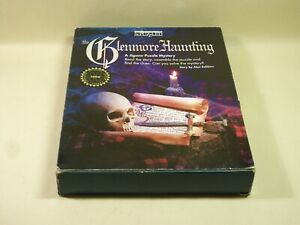 Vintage Mystery Jigsaw Puzzle The Glenmore Haunting Booklet Difficult UNCHECKED