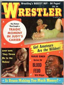 The Wrestler Magazine (April 1967) very rare mag