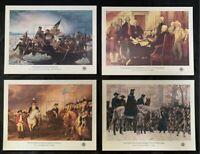 US Scott #1686-9 American Bicentennial Souvenir Sheets in USPS Packaging Mint NH