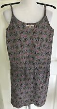 Bershka Summer Dress Paisley Style Floral Print Wrap Strappy Casual Size S