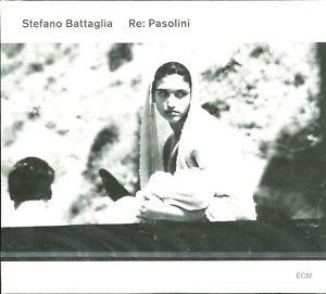Stefano Battaglia Re: Pasolini CD NEW ECM Records