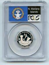 2009 S 25C Silver Northern Mariana Islands Quarter PCGS PR70DCAM