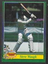 BUTTERCUP BREAD 1995 CRICKET CARD STEVE WAUGH (Australia) Scratchie intact