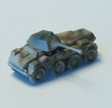 Z-scale Military Panzar in metal, high detailing, turning turret