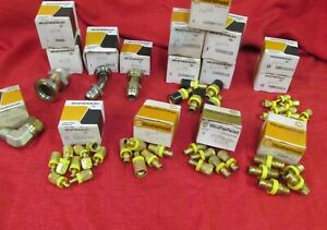WEATHERHEAD FITTING - MISCELLANEOUS SIZES - NEW 72 TOTAL PCS