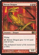 *MRM* ENG 4x Dragon shivân (Shivan Dragon) MTG Magic 2010-2015