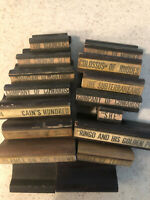 MGM MOVIE STUDIO PRODUCTION STAMPS 1960s DECADE LOT OF 16  RUBBER INK STAMPS