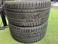 2x275 35 20 Pirelli Winter Sotto Zero 3 M+S Tread 7 mm