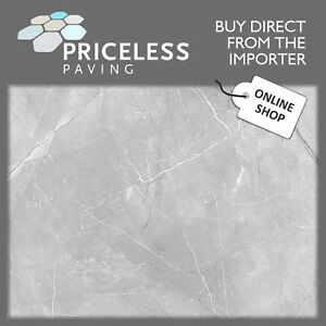 Light Grey Marble Style Porcelain Floor and Wall Tiles 600x300x10mm KITTY HAWK