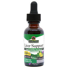 LIVER FUNCTION SUPPORT cleanse complex dietary supplement 30ml Nature's Answer