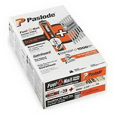 Paslode 650564 2-Inch by .113 Ring Shank GalvGuard 1M Fuel and Nail Pack