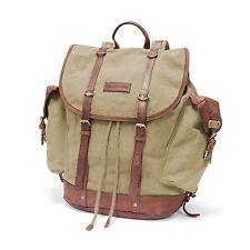 DRAKENSBERG KIMBERLEY Backpack Sand Rucksack Outdoor Armee Canvas Leder Vintage