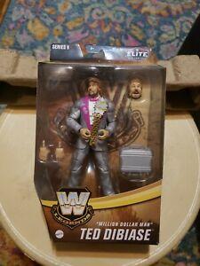 Mattel WWE Million Dollar Man Ted DiBiase Legends Elite Series 9 Figure