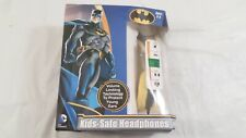 NIB 2016 Sakar DC Comics Batman Kids Safe Headphones