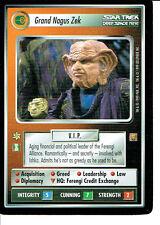 STAR TREK CCG RULES OF ACQUISITION RARE CARD GRAND NAGUS ZEK