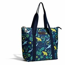 Margaritaville AUTHENTIC Insulated Chill Travel Tote LANDSHARK Print - *NEW