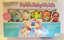 Vintage Musical Rattle Baby Mobile Birds & Butterflies Box Never Been Opened Toy