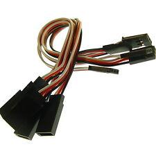 5x 15cm Servo Extension 150mm Futaba Jr Câble Electrique Fiche Adaptateur